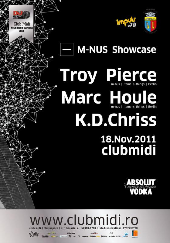 Troy Pierce / Marc Houle @ Club Midi