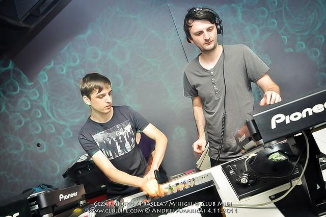 Poze: Cezar / Kozo / Praslea / Mihigh @ Club Midi