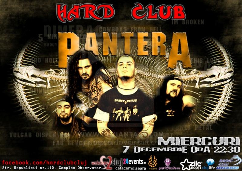 Pantera – videography @ Hard Club