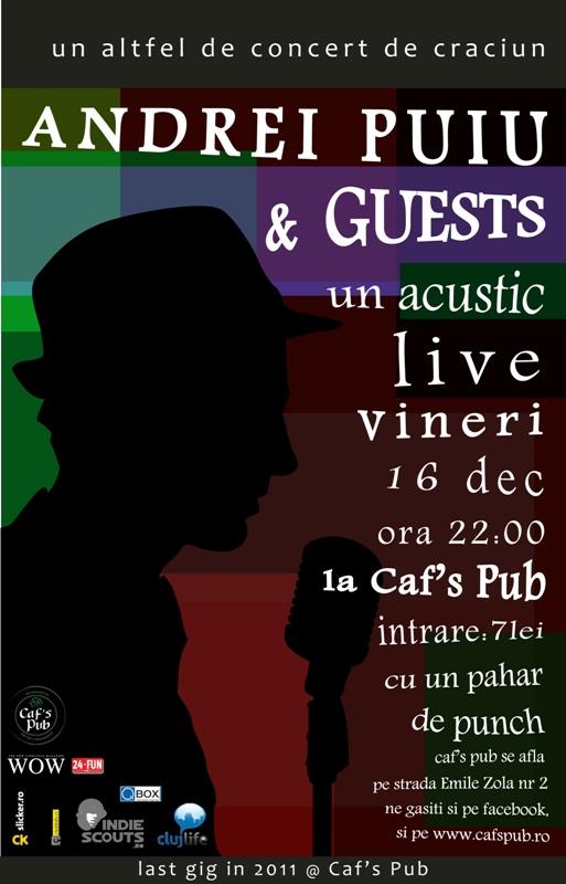 Andrei Puiu @ Caf's Pub