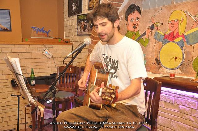 Poze: Andrei Puiu @ Caf's Pub
