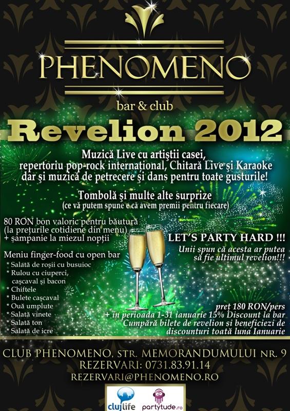 Revelion 2012 @ Club Phenomeno