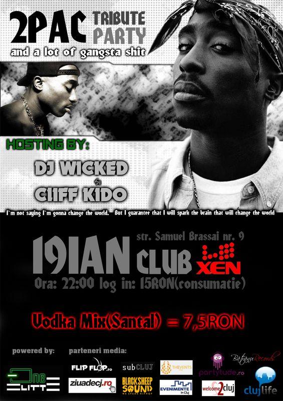 2 Pac tribute party @ Club Xen