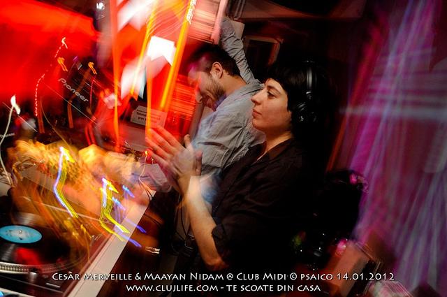 Poze: Cesar Merveille & Maayan Nidam @ Club Midi