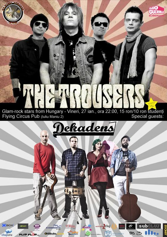 The Trousers & Dekadens @ Flying Circus Pub