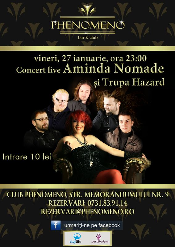 Aminda & Hazard @ Club Phenomeno