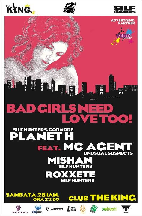 Bad Girls Need Love Too! @ The King