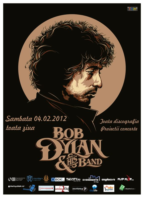 Ziua Bob Dylan in Uptown Arts Caffee