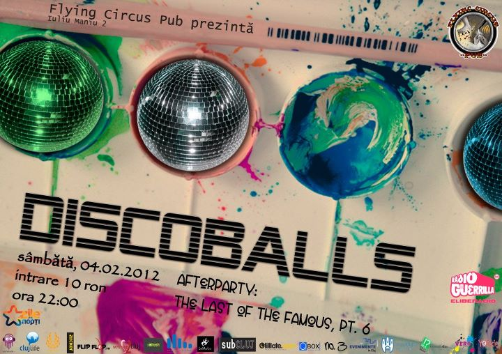 Discoballs @ Flying Circus Pub