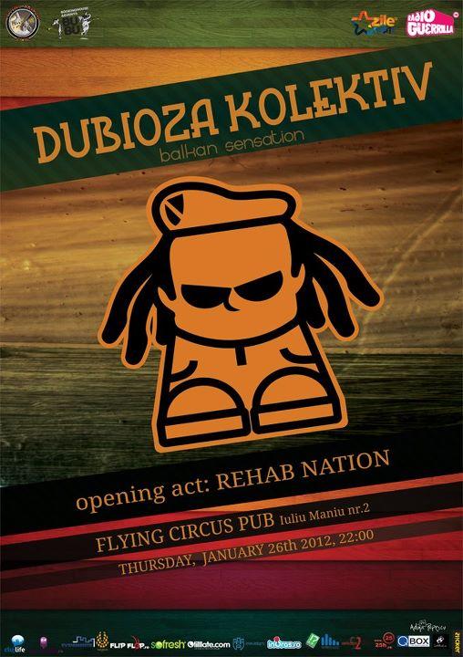 Dubioza Kolektiv @ Flying Circus Pub