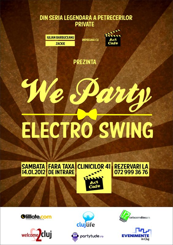 Electro Swing Party @ Act Cafe