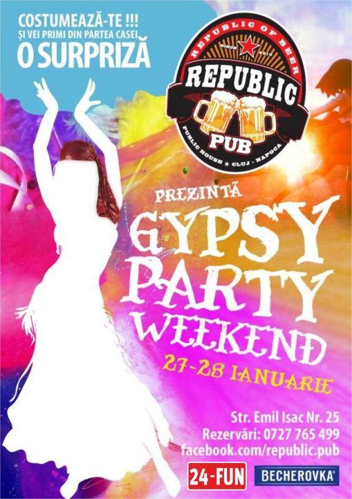 Gypsy Party @ Republic Pub
