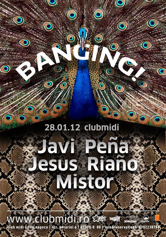 Javi Pena, Jesus Riano, Mistor @ Club Midi
