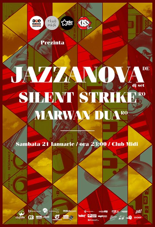 Jazzanova / Silent Strike @ Club Midi