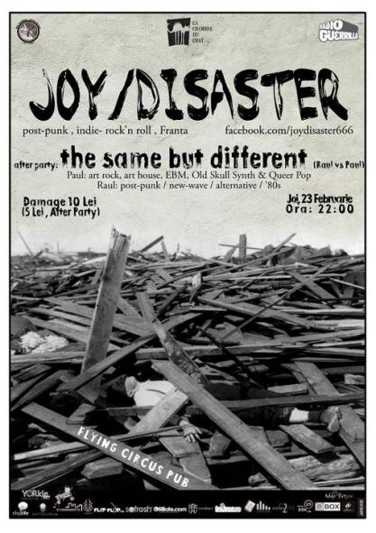 Joy Disaster @ Flying Circus Pub