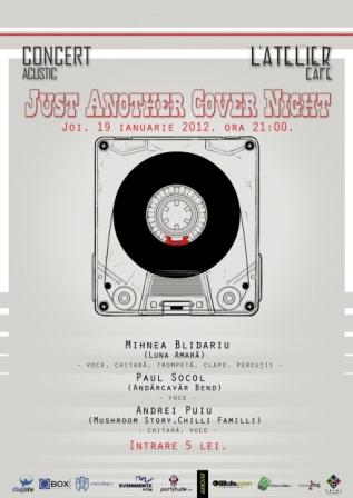 Just Another Cover Night @ L'Atelier Cafe