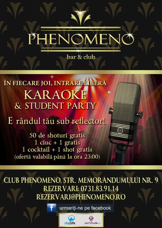 Karaoke & Student Party @ Club Phenomeno