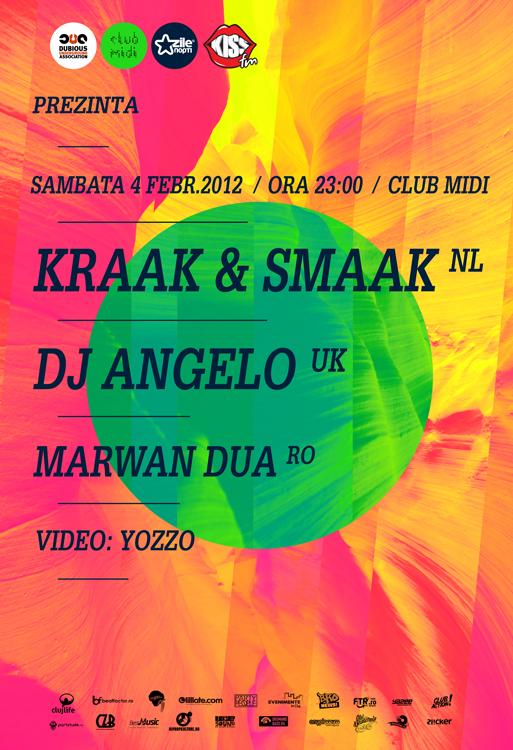 Kraak & Smaak @ Club Midi