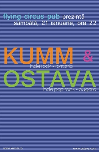 Kumm & Ostava @ Flying Circus Pub