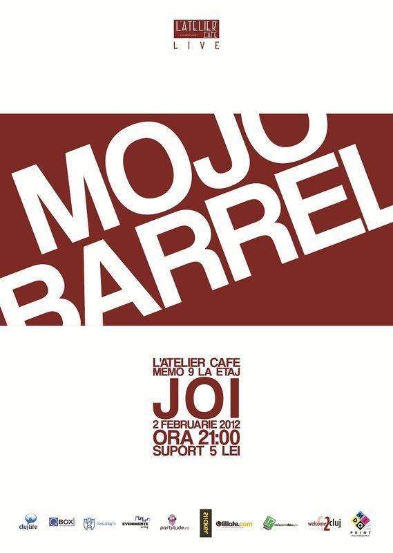 Mojo Barrel @ L'Atelier Cafe