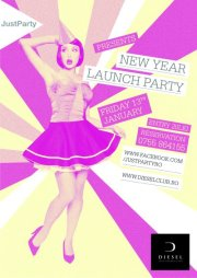 New Year Launch Party @ Club Diesel