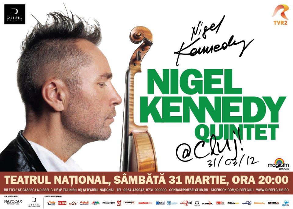 Nigel Kennedy la Cluj-Napoca
