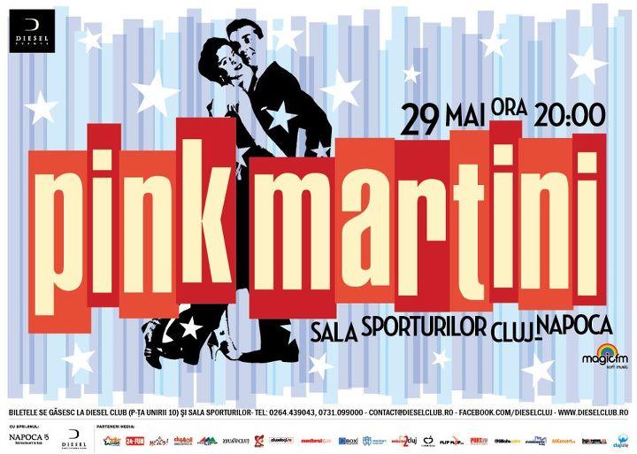 Pink Martini la Cluj-Napoca