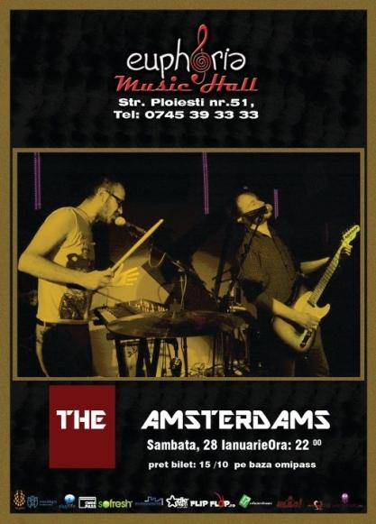 The Amsterdams @ Euphoria Music Hall