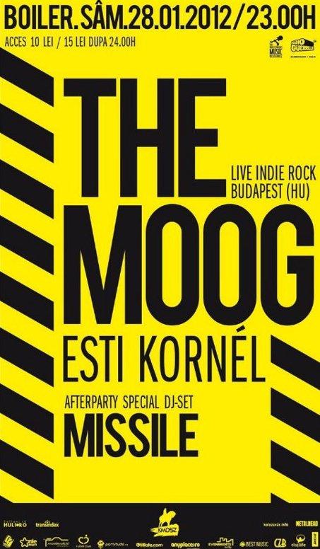 The Moog @ Club Boiler