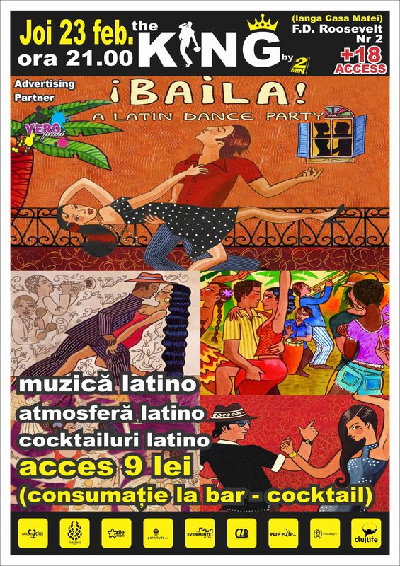 Latin Dance Party @ Club The King