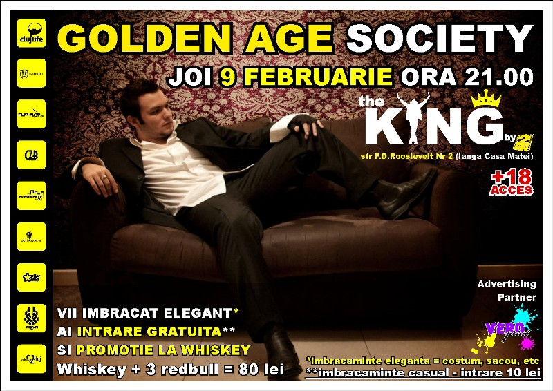 Golden Age Society @ Club The King