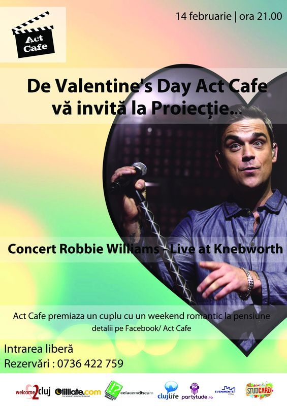 Proiectie: Robbie Williams – Live at Knebworth