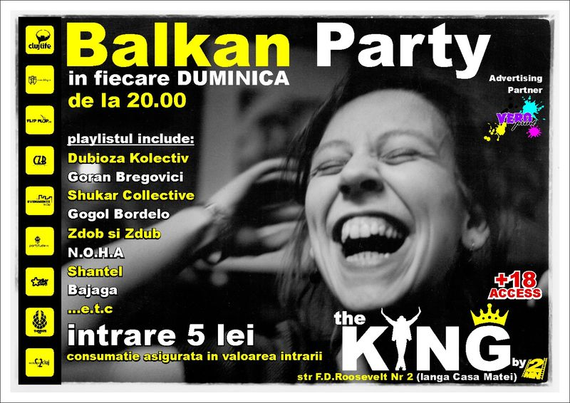 Balkan Party @ Club The King