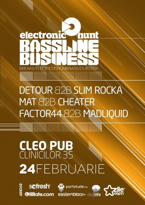 Bassline Business @ Cleo Pub