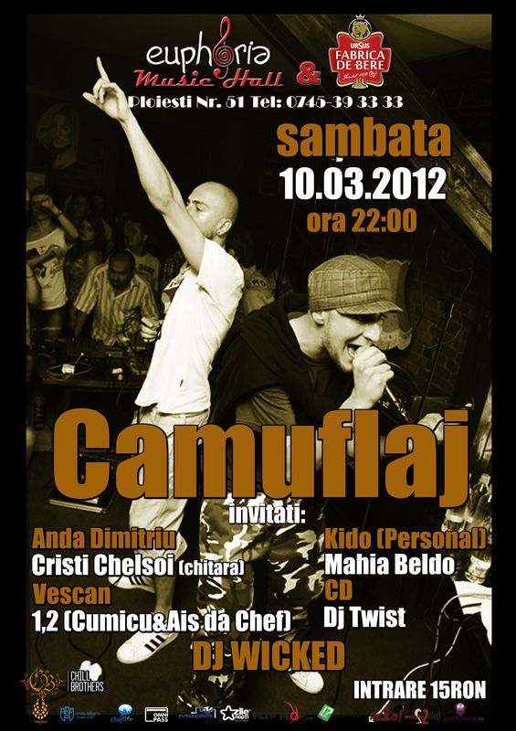 Camuflaj @ Euphoria Music Hall