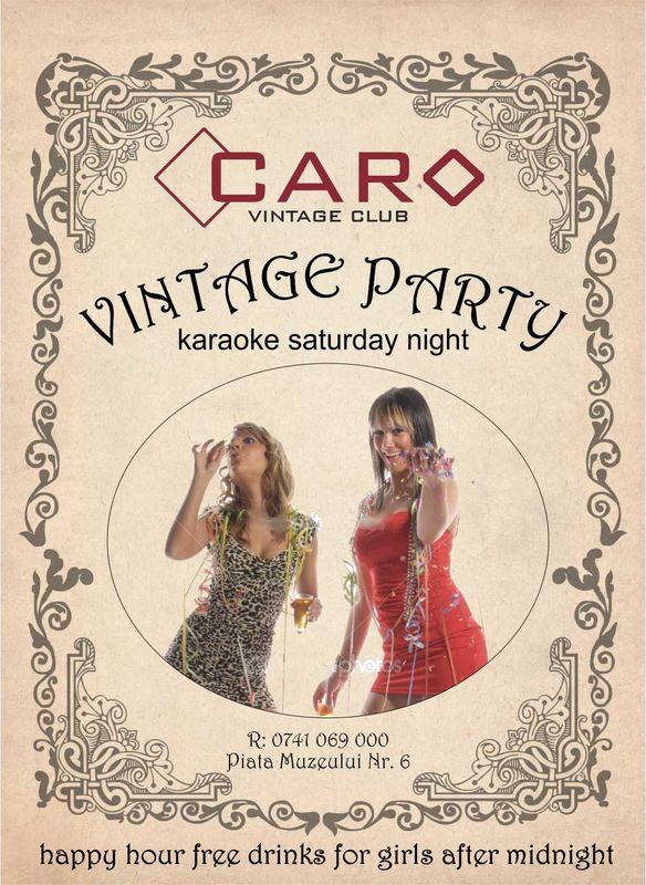 Vintage Party @ Club Caro