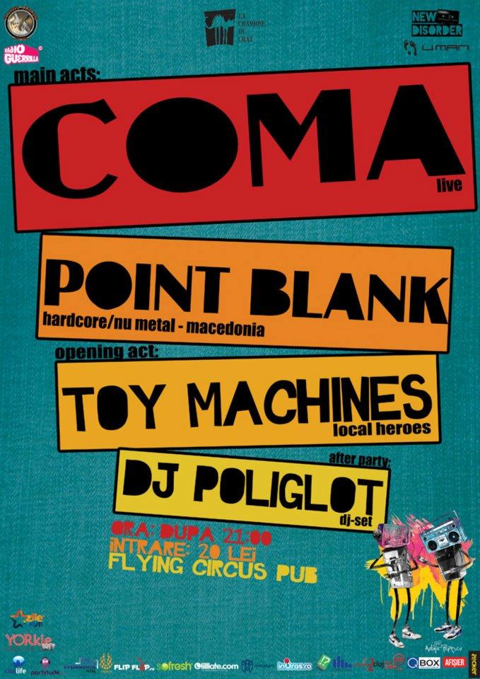 Coma @ Flying Circus Pub