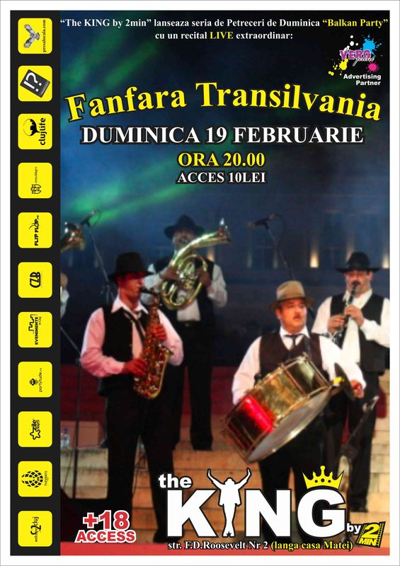 Fanfara Transilvania @ Club The King