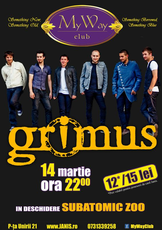 Grimus @ Club My Way