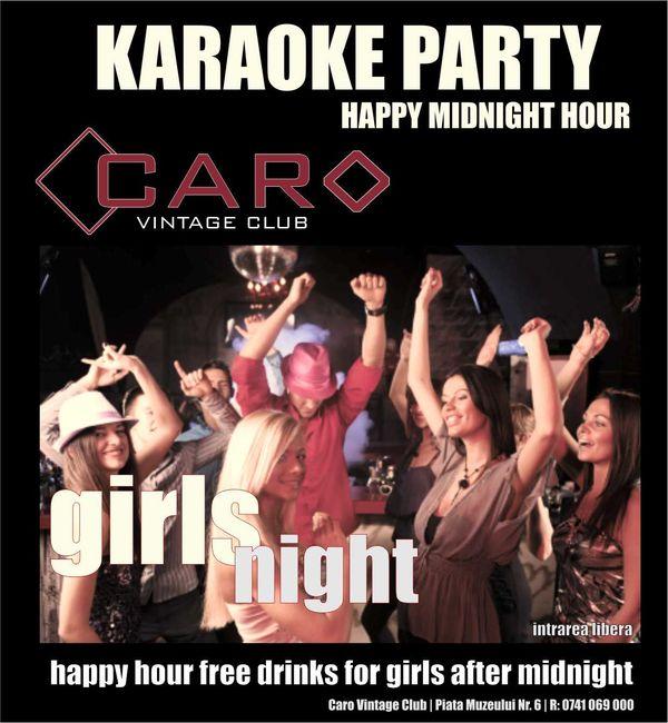 Karaoke Party @ Club Caro