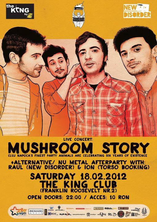 Mushroom Story @ The King