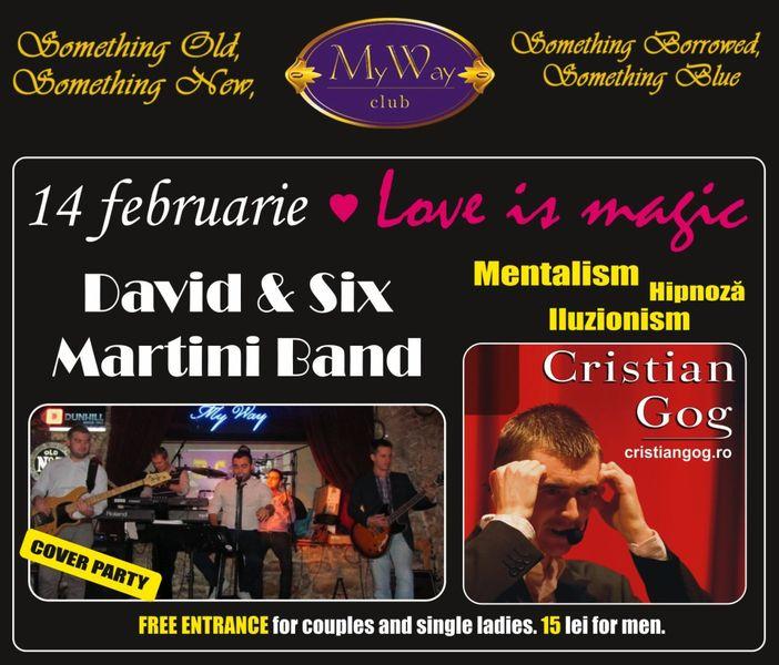 Cristian Gog / David & Six Martini Band @ My Way