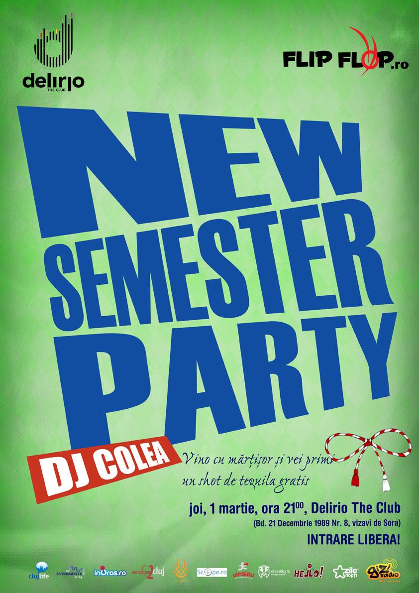 New Semester Party @ Club Delirio