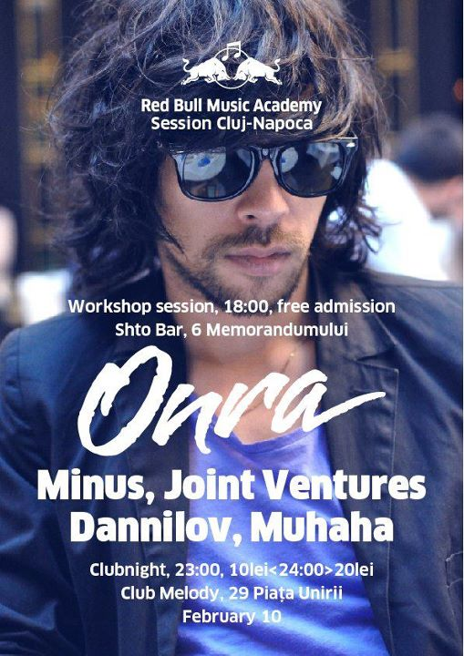 Red Bull Music Academy Session la Cluj-Napoca
