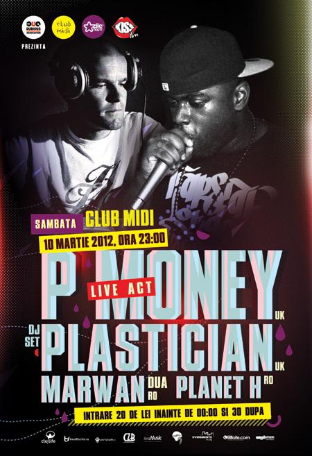 P.Money & Plastician @ Club Midi