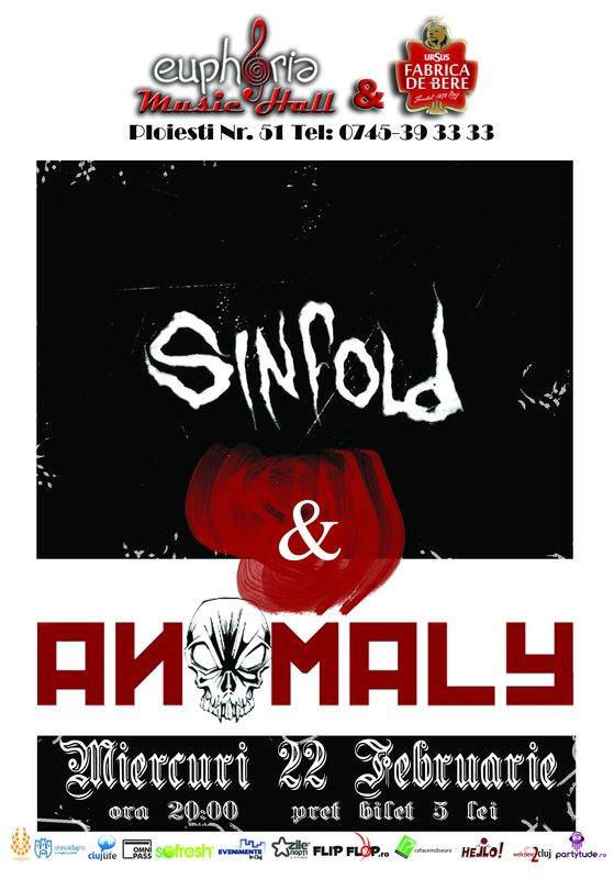 Sinfold & Anomaly @ Euphoria Music Hall