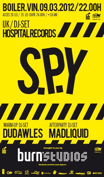 SPY @ Club Boiler