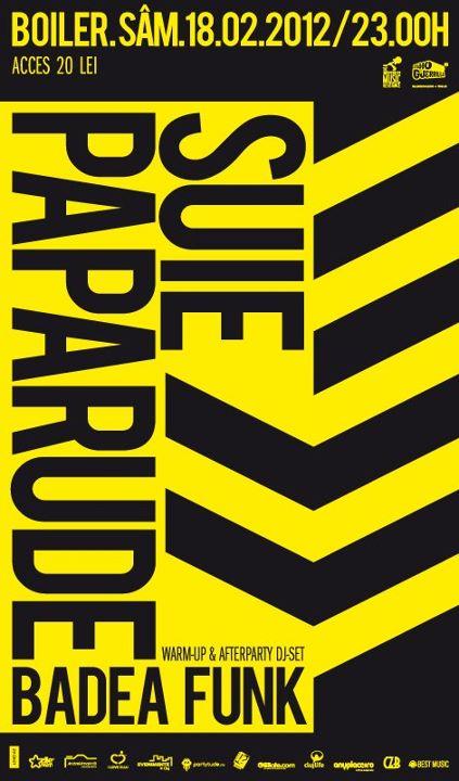 Suie Paparude @ Club Boiler