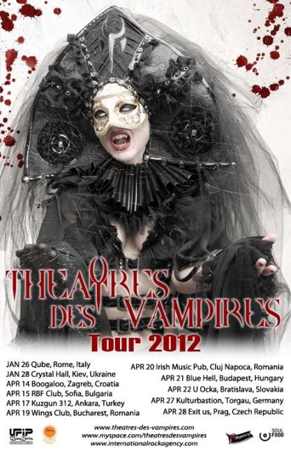 Theatres des Vampires @ Irish & Music Pub