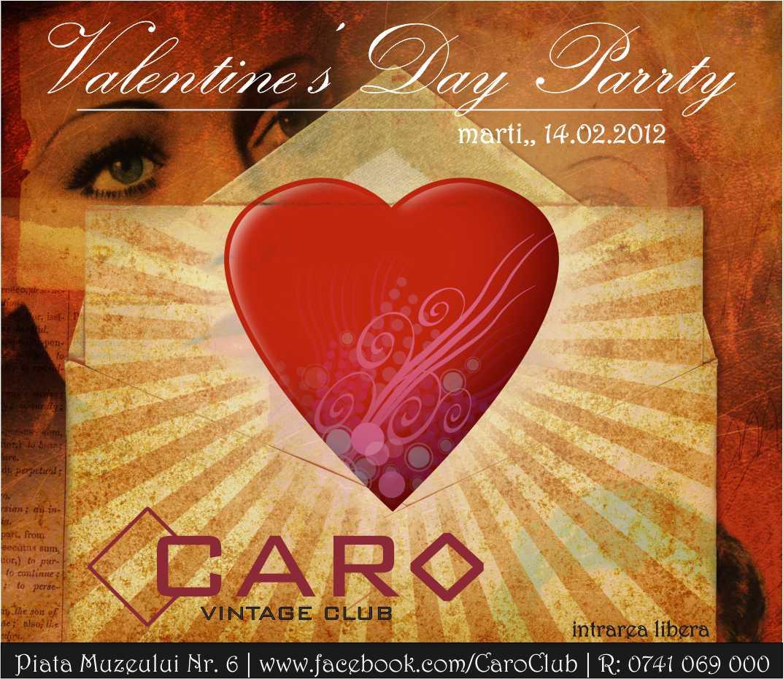 Valentine's Party @ Club Caro